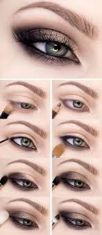 easy smokey eye makeup tutorial for