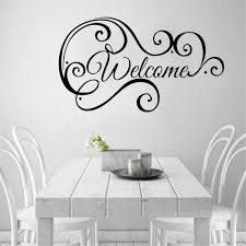 Welcome Wall Decals Logo Home Sign Vinyl Sticker Decal Wall Sticker For Living Room Home Decoration Shop Restaurant Decor Room Decor Wall Stickers Room Decoration Stickers From Joystickers 11 67 Dhgate Com