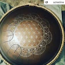 GUDA DRUM MINI OVERTONE #gudadrum #handpan @veg.an.ja | Steel drum ...