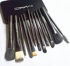 12pcs m ac brand makeup brushes sets