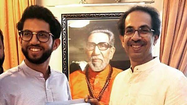 "Image result for uddhav thackeray son"""