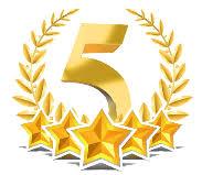 Image result for gold 5 star logo
