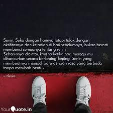 senin suka dengan hariny quotes writings by nkmln yourquote