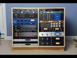 to build a diy double 16u studio rack