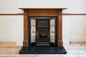 how victorian fireplaces work antique