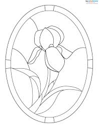 free stained glass patterns lovetoknow