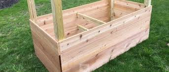 build diy raised garden boxes and beds