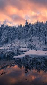 snow sunset wallpapers top free snow