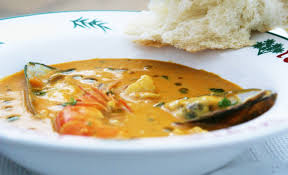 malay infused seafood soup