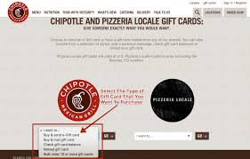 how to check chipotle gift card balance