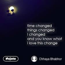 night quotes in hindi time changed things changed english quotes