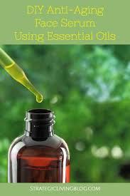 make a diy anti aging face serum using