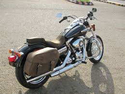 new leather saddlebags solo seats and