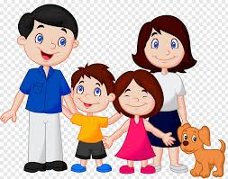 cartoon family family png pngwave