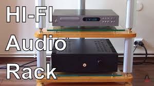 diy hi fi audio rack you