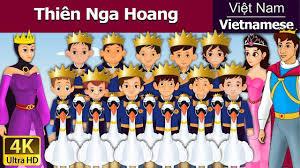 Vietnamese Fairy Tales - Thiên Nga Hoang | Chuyen co tich | Truyện cổ tích  | Truyện cổ tích việt nam