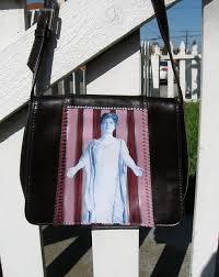 Glenna Smith Tinnin Purse, back | Dark brown thrifted purse,… | Flickr
