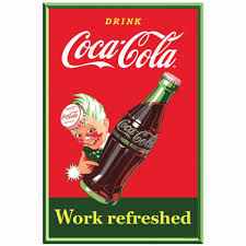 Collectibles Art Collectibles Coca Cola Work Refreshed Sprite Boy Wall Decal 16 X 24 Vintage Style Coke Decor Decals Stickers Boboo Sk