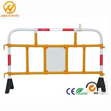 China Road Traffic Pvc Plastic Fence Panels Crowd Control Barrier China Plastic Road Barrier Road Barricade