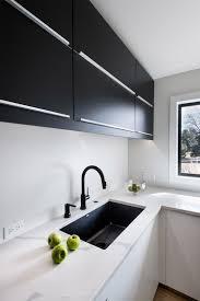 white matte acrylic ikea cabinets