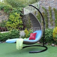mermaid seat poly rattan swing chair