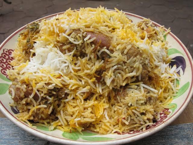 Chicken Kabab Biryani