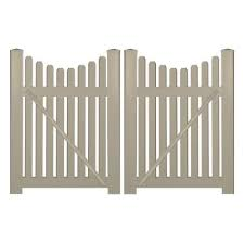 3 Vinyl Fence Gates Vinyl Fencing The Home Depot