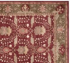 franklin persian rug pottery barn