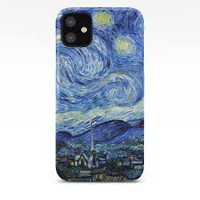 starry night vincent van gogh iphone