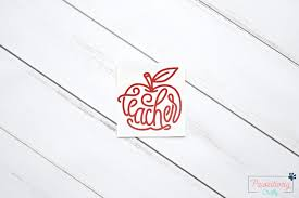 Teacher Decal Teacher Apple Decal Teacher Tumbler Teacher Etsy Teacher Clipboard Teacher Appreciation Gifts Teacher Apple