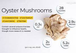 oyster mushroom nutrition facts and
