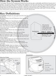 Pif150 Petsafe Premium Wireless Fence Transmitter User Manual 400 651 4 Indd Radio Systems