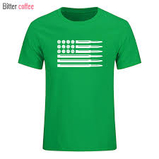Bitter Coffee Bullet American Flag Decal Usa Summer Men T Shirt Short Sleeve O Neck Fitness Casual Shirts Plus Size T Shirts Aliexpress