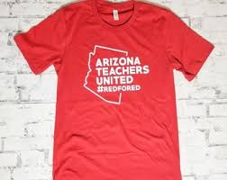 Red For Ed Arizona Etsy