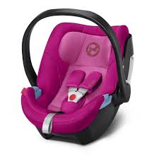 cybex aton 5 baby car seat fancy pink