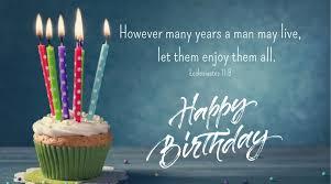 inspiring bible verses for those celebrating their birthday