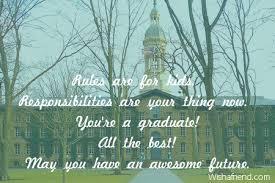 graduation messages from parents