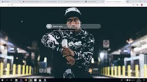 cool hopsin rapper hd wallpaper new tab