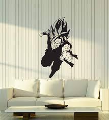Vinyl Wall Decal Dragon Ball Z Manga Boy Anime Cartoon Room Interior S Wallstickers4you