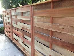 Redwood Basket Weave Fence Modern Exterior Los Angeles By Fence Factory Houzz Au