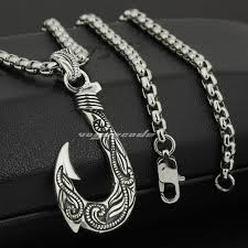 linsion 925 sterling silver fish hook