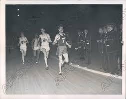 1939 Wesley Wallace Fordham Univ Track at Knights of Columbus Games Press  Photo | eBay