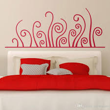 Bed Headboard Wall Sticker Nexus Large Horizontal Bedhead Deoration An Artistic Way Vegetation Curved Vinyl Decal Murals Tree Wall Decal Tree Wall Decals From Joystickers 8 96 Dhgate Com