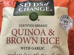 change quinoa whole grain brown rice