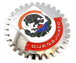 Guanajuato Mexico Grille Badge For Car T Buy Online In Dominican Republic At Desertcart