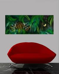 Cavalaris Jungle Eyes Tiger Panther Wall Decal