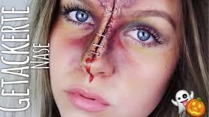 getackerte nase make up