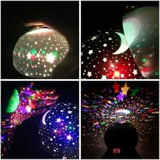 Night Light Star Planetarium Projector Space Laser Glow Dark Lamp Kids Bedroom