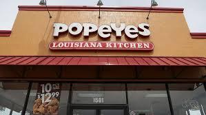 every popeyes menu item ranked worst