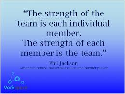 teamwork quote about strength quotesta